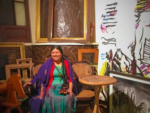La boliviana Elvira Espejo es galardonada con la medalla Goethe, un premio cultural alemán