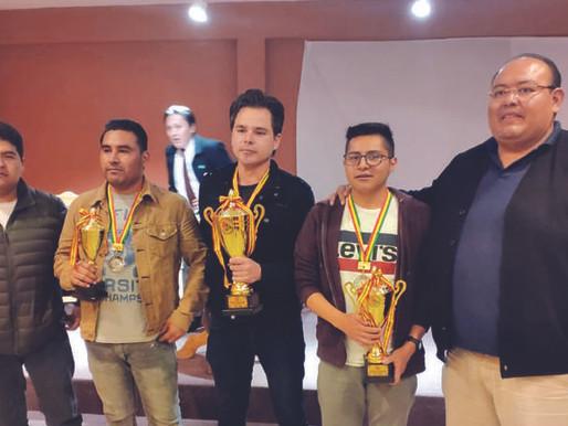 José Daniel Gemy, ganador del torneo nacional de ajedrez