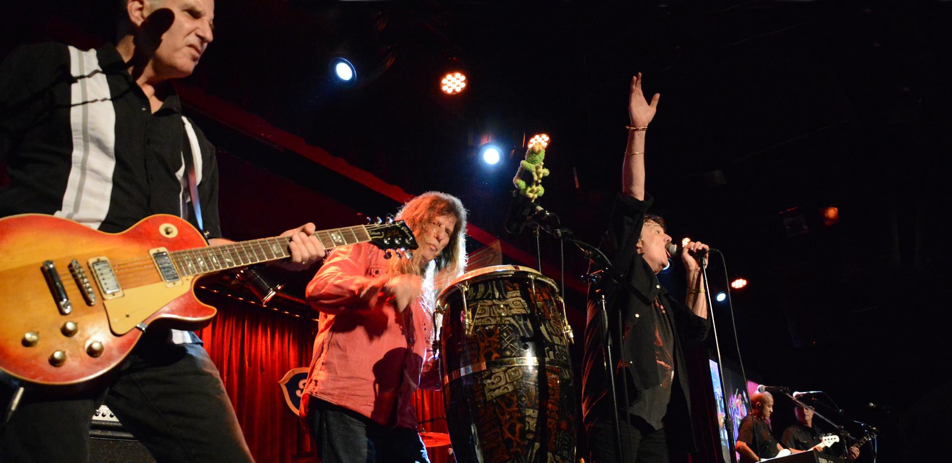 Burton and band at BB Kings