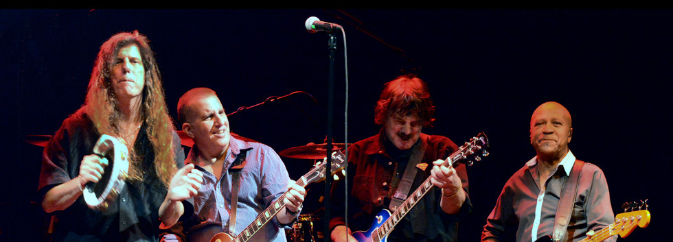 Burton and band in Las Vegas