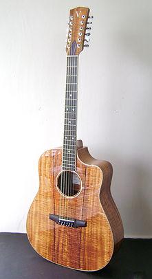 Koa Standard 12 string Guitar