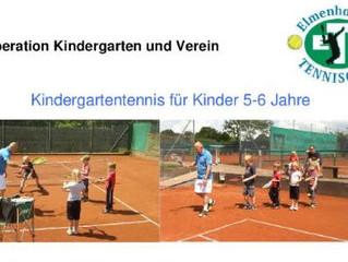 Kooperation Kindergarten und Verein