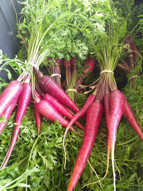 Zanahorias, Moradas, 1lb bolsa