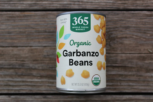 Garbanzo Beans, 15.5oz.