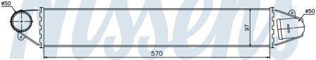526634C Интеркулер FORD GALAXY (00-) 1.9 TDi/SHARAN (00-)