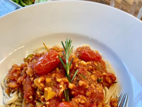 Spaghetti Bolognese - rein pflanzlich und keiner merkts!