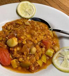 Harira - Marokkanische Linsen/Tomatensuppe