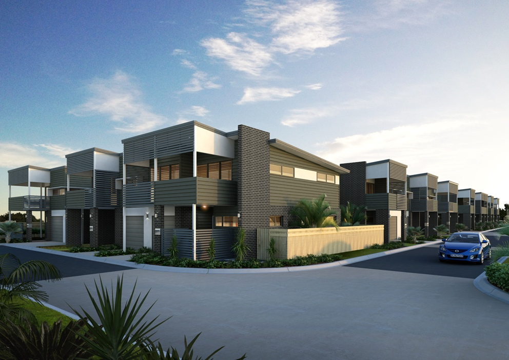 Dorchester Townhouses From Lot 16.jpg
