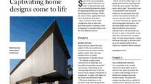 Honeyworks House featured in Domain Magazine