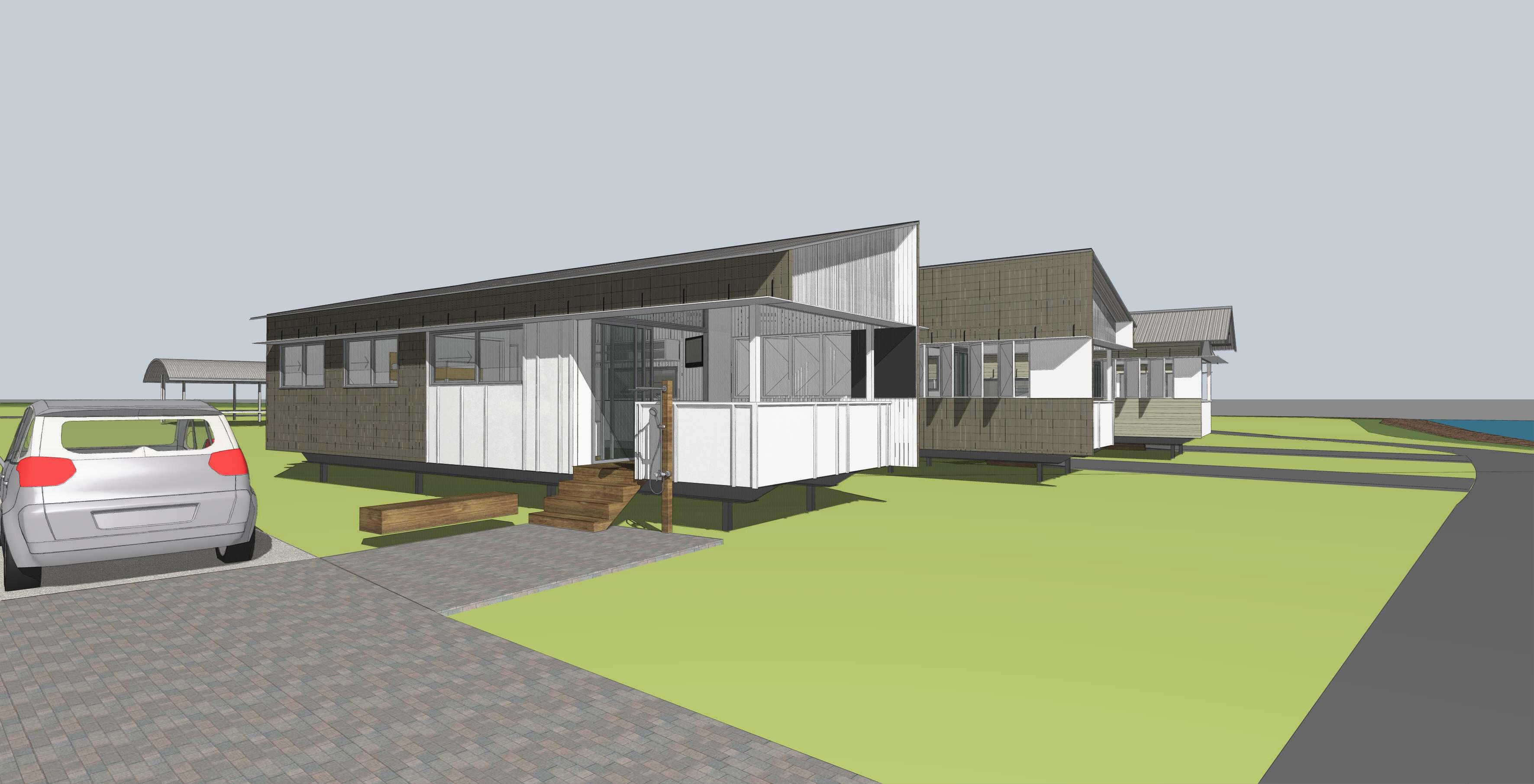 Quandamooka eco-cabins