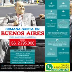BUENOS AIRES SEMANA SANTA