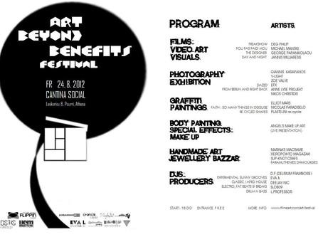 Art Beyond Benefits Festival