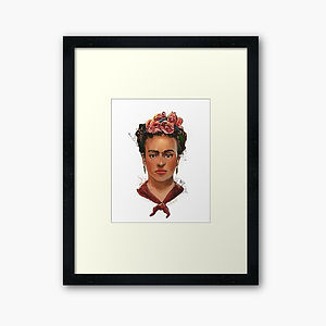 FRIDA framed-art-print.jpg
