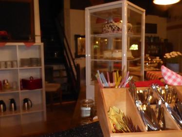 Portland-Café von Innen