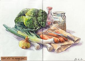 croquis aquarelle dessin peinture carnet de voyage, sketch couleurs gouache, feutres, lumière,  g
