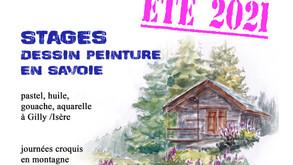 Stages été 2021 en Savoie