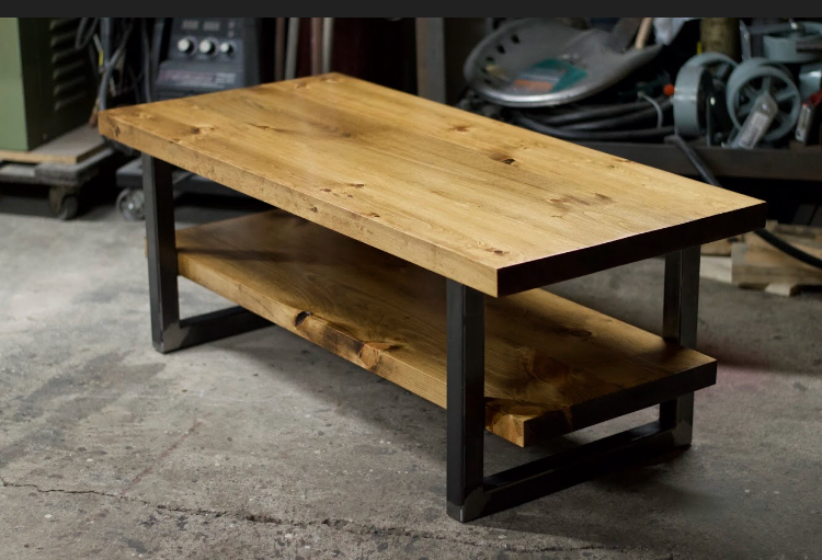 Coffee Table with shelf