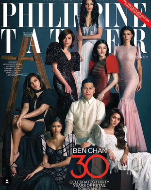 Philippine Tatler Cover feat. Lovi Poe in Rhett Eala