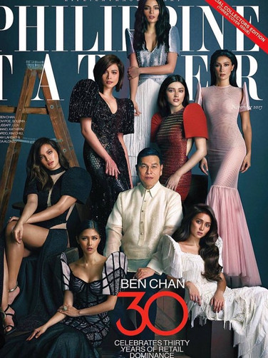 Philippine Tatler Cover feat. Lovi Poe in Rhett Eala