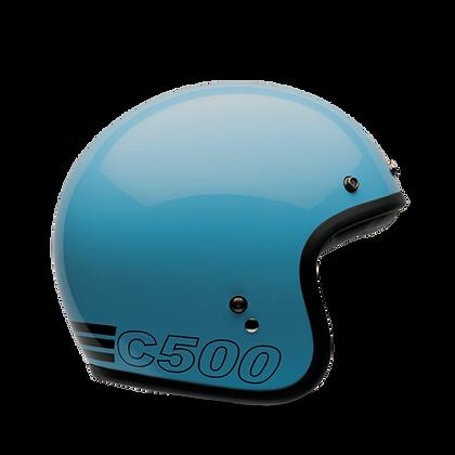 BELL Custom 500 Retro Blue
