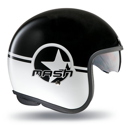 MASH Casco Negro brillo