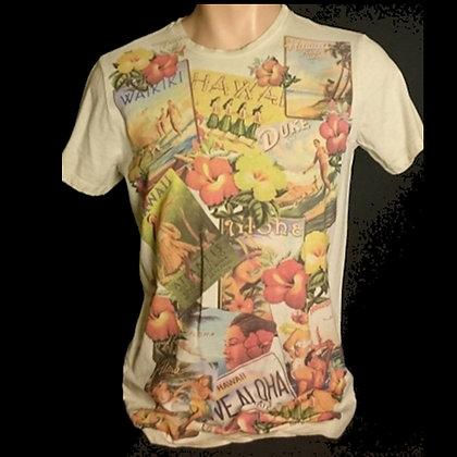 HAWAII MAN Camiseta Tattoo old school