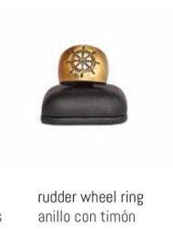 NIKKIMA anillo con timón