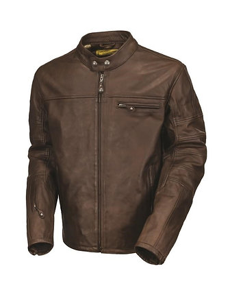 ROLAND SANDS LEATHER RONIN TOBACCO