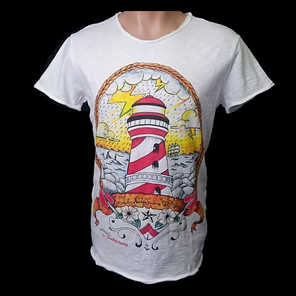 FARO MAN Camiseta Tattoo old school