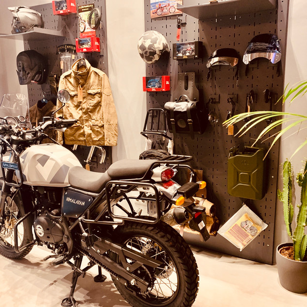 Royal Enfield Madrid
