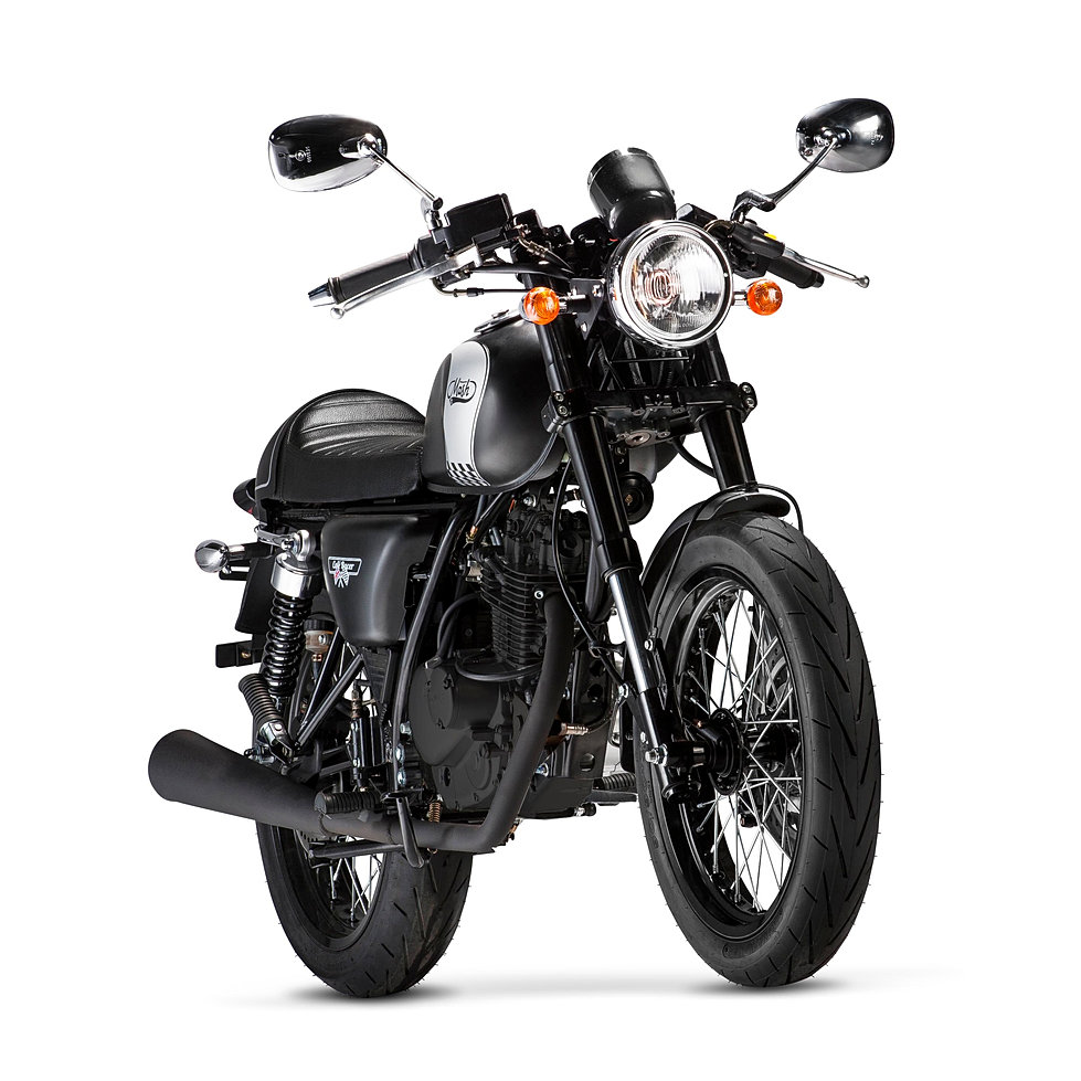 Cafe Racer Vintage Modelo Moto 125cc De La Marca Mash