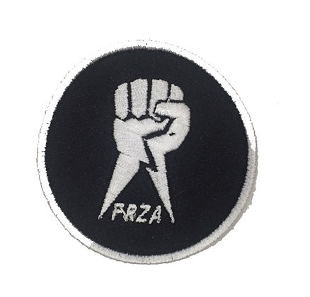 Pach bordado FRZA Color negro Logo