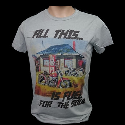 FUEL MAN Camiseta Tattoo old school