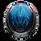 Thumbnail: BELL Custom 500 RSD Airtrix Heritage Blu/Red