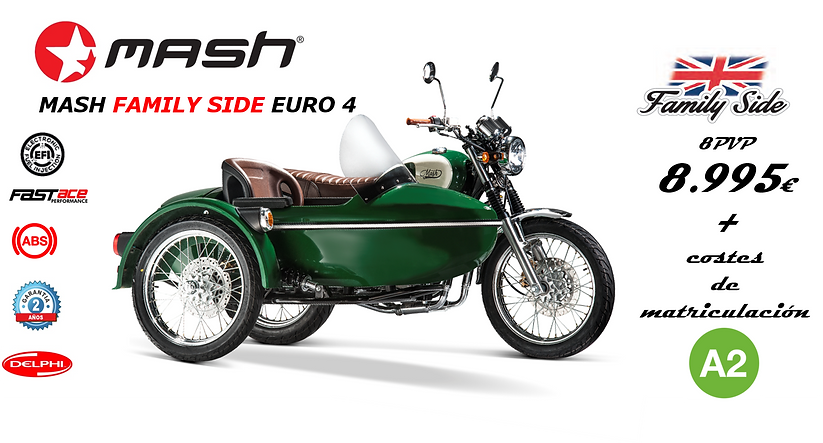 Nuevo modelo MASH    ¡Moto con sidecar! - ForoCoches