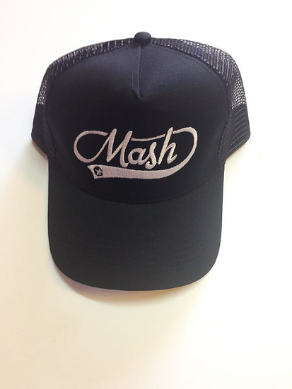 Gorra negra Logo MASH Vintage