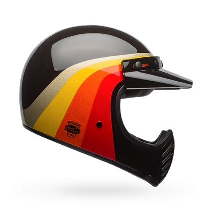 CASCO BELL MOTO-3 CHEMICAL CANDY NEGRO/ORO
