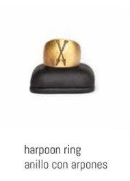 NIKKIMA anillo con arpones