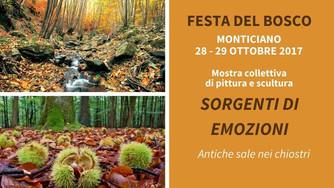 """""""Sorgenti di emozioni"""", collective show at Monticiano (SI), Italy"""