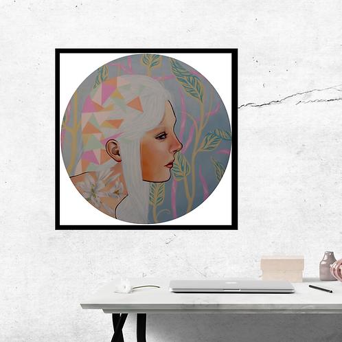 Lilia - Limited edition print