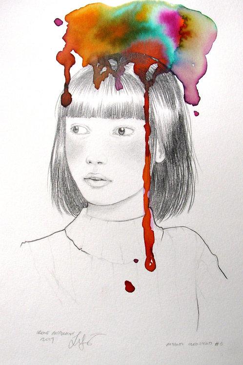 Ritratti immaginari - Imaginary portraits #5 + cornice