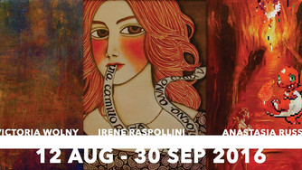 Russa, Wolny and Raspollini - Nude Tin Can Gallery, St. Albans, UK, 13th August-30th September 2016
