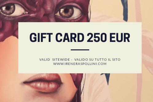 GIFT CARD 250 EUR