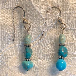 Turquoise Trio Earrings