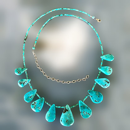 All Turquoise necklace