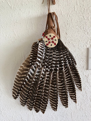 Authentic Native American made fan
