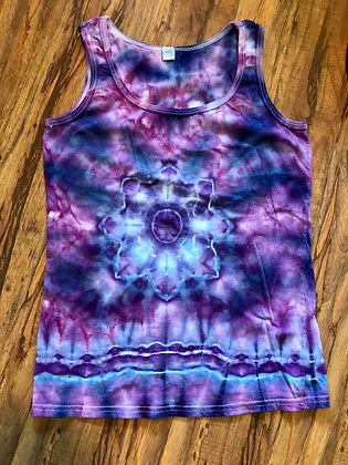 Mandala T-Shirt Tank, Adult Small