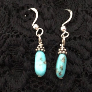 Dainty turquoise nuggets