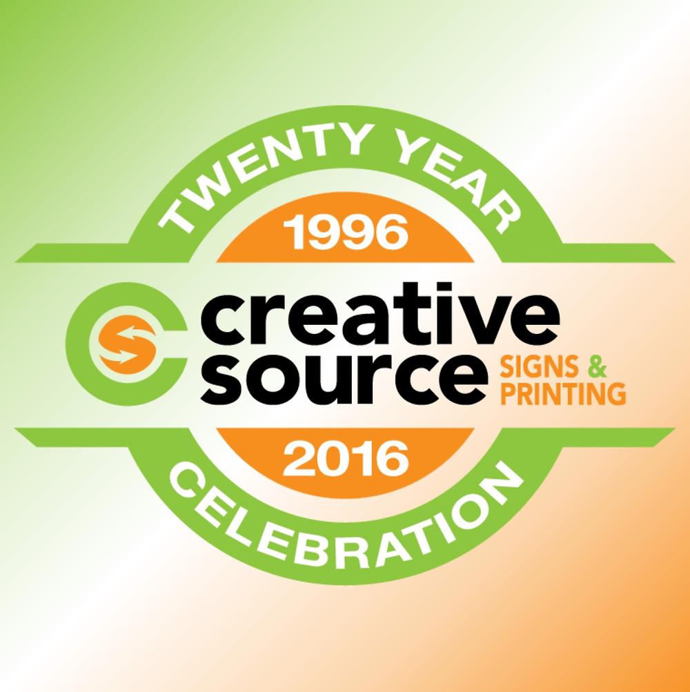 canton sign company creative source 20th anniversary