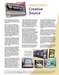Creative Source profiled in Jackson-Belden Chamber newsletter